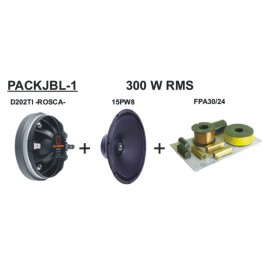 Pack sonido 300W RMS