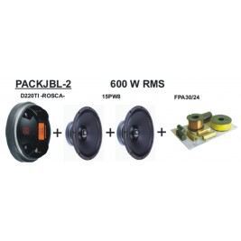 Pack sonido 600W RMS