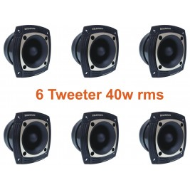 6 UNIDADES TWEETERS ST302 40W RMS