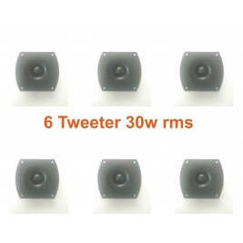 6 UNIDADES TWEETERS T423 HSD 30W RMS