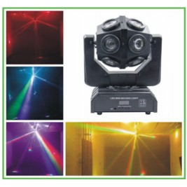 EFECTO LED GIRATORIO 12x10W RGBW 4 IN 1